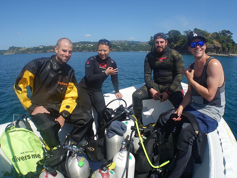 Phil, Yudi, Peter and Craig.