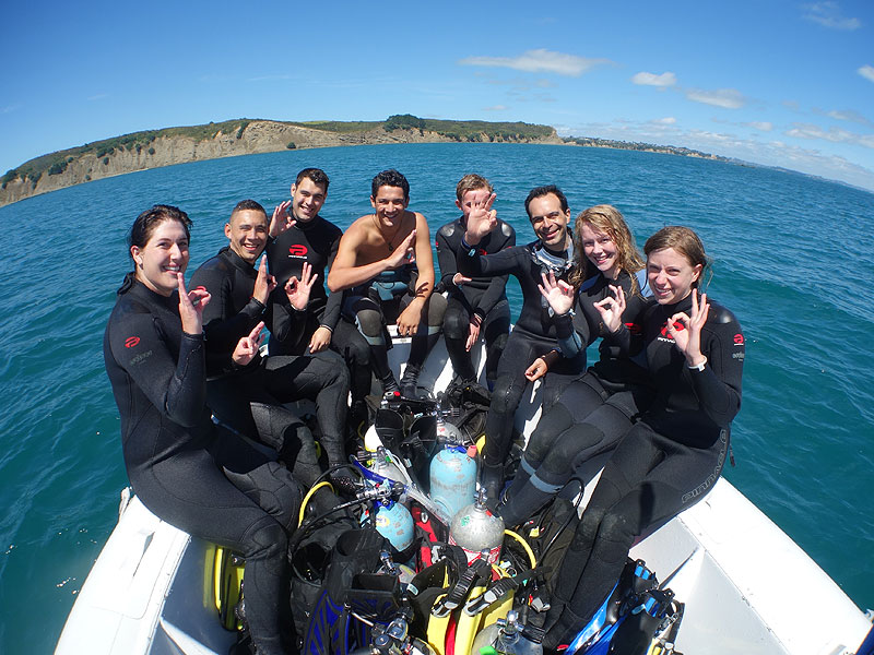 Lachies team at Wellington Reef.