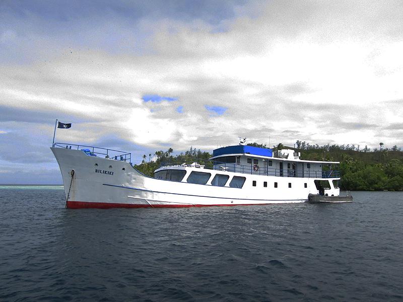 Diving trip aboard Bilikiki in the Solomon Islands.