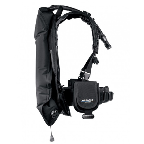 Oceanic Jetpack BCD - take your entire dive gear as hand luggage !