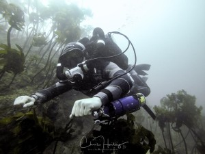 Thomas on Hollis Explorer Rebreather