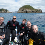 Diving at Tiri Tiri Island