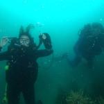 Joanne and Martin at Tiri Tiri Island